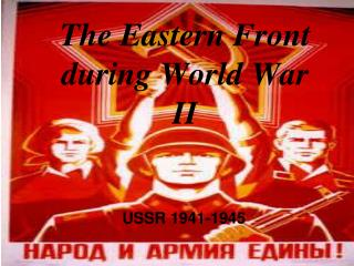 The Eastern Front during World War II