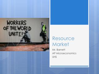 Resource Market
