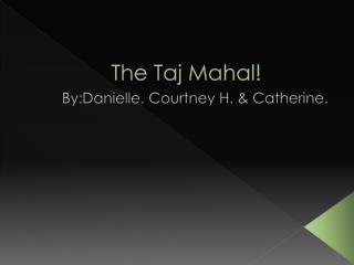 The Taj Mahal!