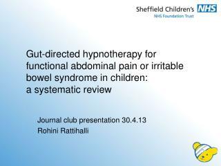 Journal club presentation 30.4.13 Rohini Rattihalli