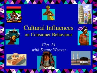 Cultural  Influences on  Consumer  Behaviour