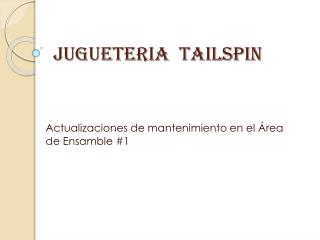 JUGUETERIA  TAILSPIN