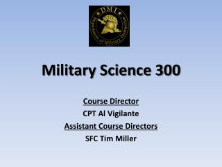 Military Science 300
