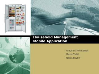 Household  Management  Mobile  Application