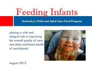 Kentucky's Child and Adult Care Food Program