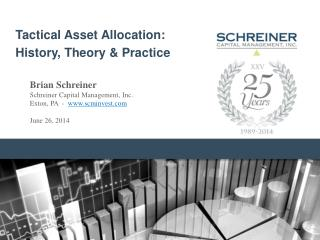 Tactical Asset Allocation: History, Theory & Practice