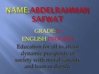 name: abdelrahman safwat