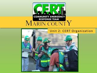 Unit 2: CERT Organization