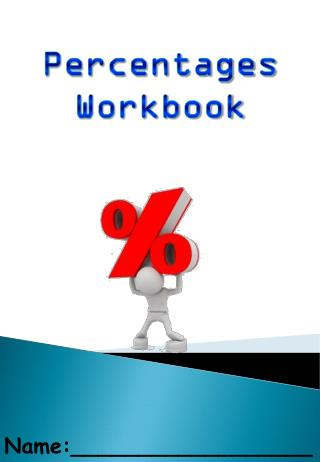 Percentages  Workbook