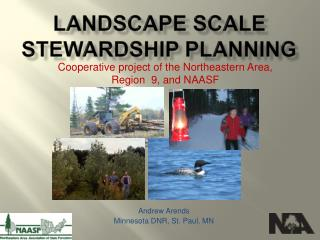 Landscape Scale Stewardship Planning