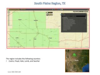 South Plains Region, TX