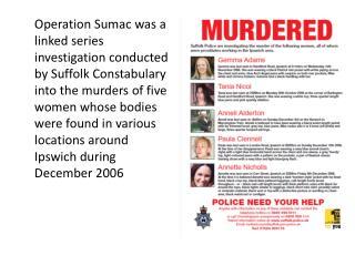 Crime Linking Assessment