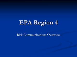 EPA Region 4