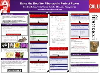 Raise  the Roof for  Fibonacci's Perfect Power