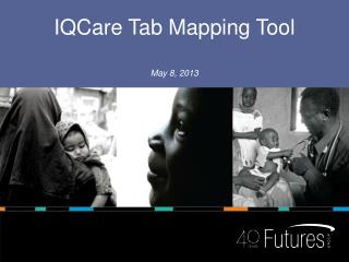 IQCare  Tab Mapping Tool