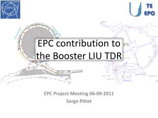 EPC contribution to the Booster LIU TDR