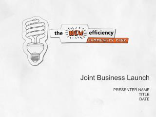 Joint Business Launch