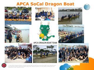 APCA  SoCal  Dragon  Boat Team