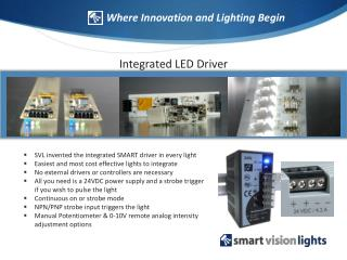 Integrated LED Driver