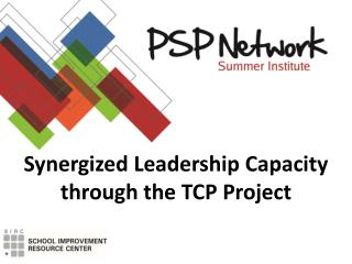 Synergized Leadership Capacity through the TCP Project