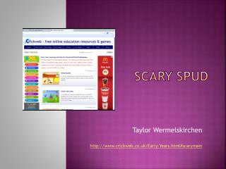 Scary Spud