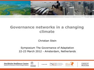 Governance networks in a changing climate