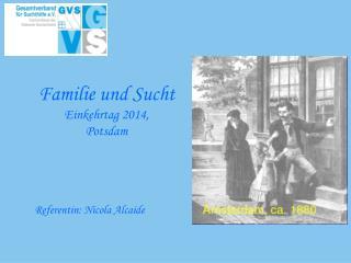 Familie  und Sucht  Einkehrtag  2014, Potsdam