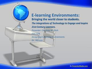 E-learning Environments: