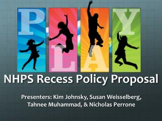 NHPS Recess Policy Proposal