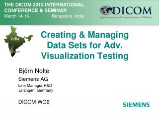 Creating & Managing Data Sets for Adv. Visualization Testing