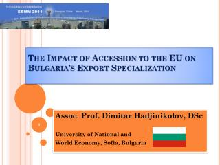 The Impact of Accession to the EU on Bulgaria's Export Specialization