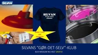 """Silvans  """"Gør-det-selv""""-klub"""