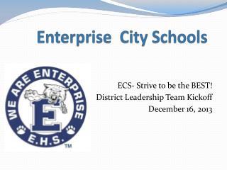 Enterprise  City Schools