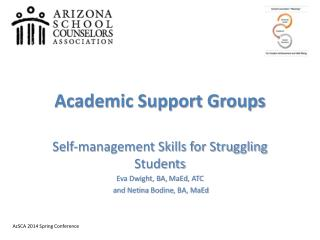 Academic Support Groups