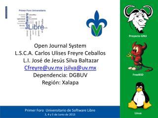 Open  Journal System