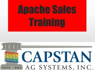 Apache Sales Training