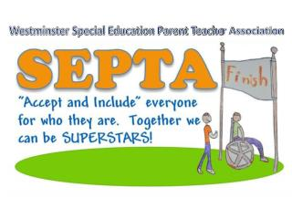Westminster Special Education Parent Teache r Association