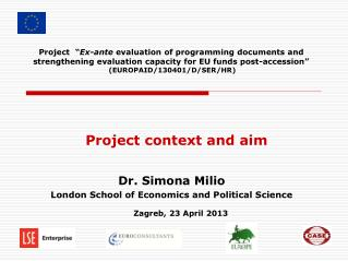 Project context and aim