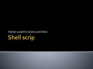 Shell  scrip