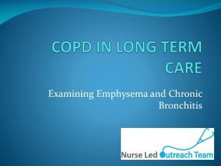 COPD IN LONG TERM CARE