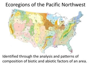 Ecoregions  of the Pacific Northwest