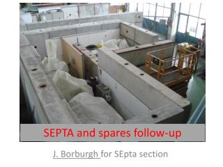 SEPTA and spares follow-up
