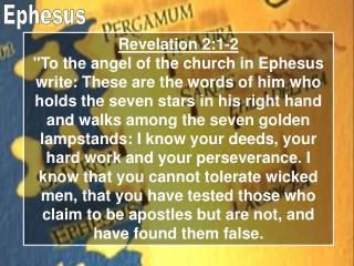 Revelation 2:1-2