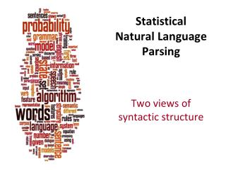 Statistical Natural Language Parsing