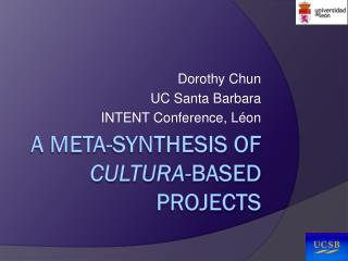A Meta-synthesis of  cultura -based projects