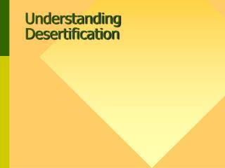 Understanding Desertification