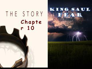 King Saul FEAR