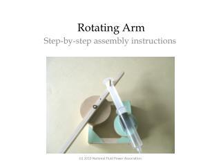 Rotating Arm