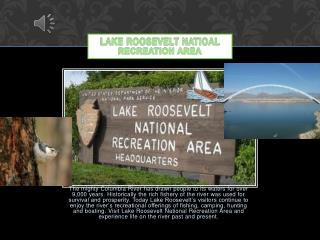 LAKE ROOSEVELT NATIOAL RECREATION AREA