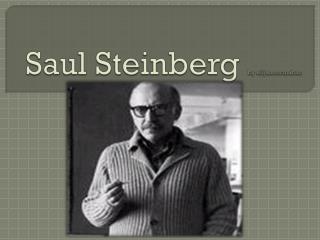Saul Steinberg  by elijah.mcmahan
